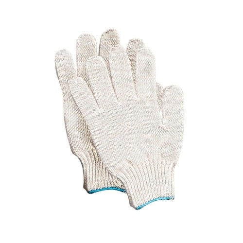 Перчатки рабочие х\б без Пвх 4 нити Точка 10 класс купить оптом, цена, фото - интернет магазин ЛенХим