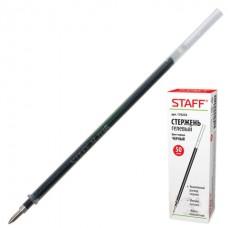 Стержень гелевый STAFF черный, 135 мм, евронаконечник, узел 0,5 мм, линия 0,35 мм