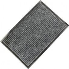 Коврик ворсовый ребристый на ПВХ основе Стандарт, серый, 900*1500*8 мм