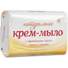Крем-мыло Невская косметика Натуральное с протеинами Шелка, 90 г