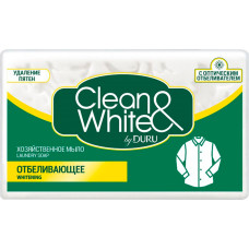 Мыло хозяйственное Duru (Дуру) Clean & White Отбеливающее, 125 г