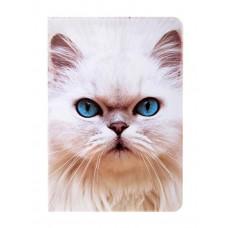 Обложка для паспорта Кошка, 13,7 х 9,6 см