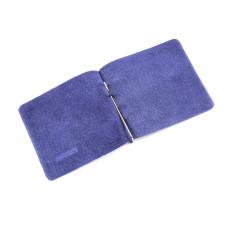 Портмоне с зажимом Z-3 без застежки, цвет темно-синий