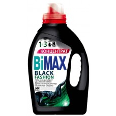 Гель для стирки BiMax (Бимакс) Black Fashion для черного белья, 1,5 л