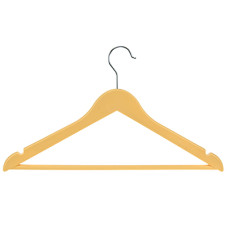 Вешалка-плечики Пастель пластик, цвет персиковый, р 48-50, 42,5х24 см