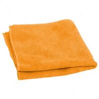 Салфетка из микрофибры (без упаковки), цвет Оранжевый, 220г/м2, 60х80 см