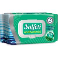 Салфетки влажные Salfeti (Салфети) Антибактериальные, 72 шт