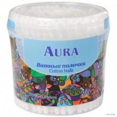 Ватные палочки Aura (Аура) стакан, 200 шт