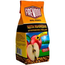 Щепа яблоневая для копчения Firewood, 200 г