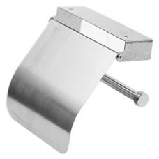 Держатель для туалетной бумаги из нержавеющей стали, настенный Золушка, 13х13 см