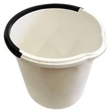 Ведро пищевое, мерное со сливом ЧУДО (мраморное), 10 л
