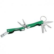 Инструмент многофункциональный 6 в 1, рукоять металлическая, в чехле