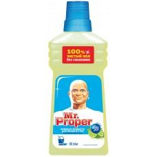 Моющая жидкость для полов и стен Mr.Proper (Мистер Пропер) Бодрящий лайм и мята, 500 мл