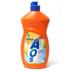 AOS средство для мытья посуды Лимон, (500 мл)