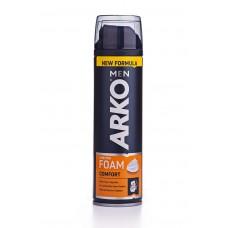 Пена для бритья ARKO «Maximum komfort» (Арко Максимум Комфорт) 3-е действие, 200 мл
