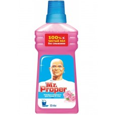 Моющая жидкость для полов и стен Mr. Proper (Мистер Пропер) Роза, 500 мл