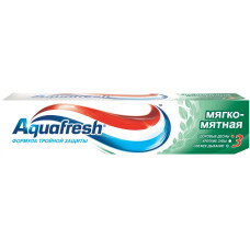 Зубная паста Aquafresh (Аквафреш) Тотал Кэа 3 Мягко-мятная, 100 мл