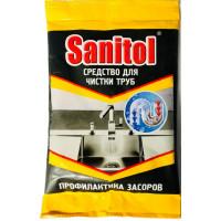 Средство для чистки труб Селена Sanitol (Санитол) Антизасор, 90 г