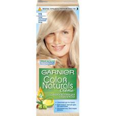 Краска для волос Garnier (Гарньер) Color Naturals Creme, тон 111 - Супер осветляющий платиновый блонд