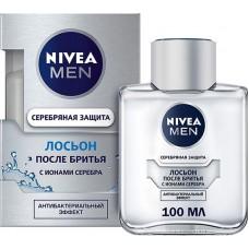 Лосьон после бритья Nivea Men (Нивея) Серебряная защита, 100 мл
