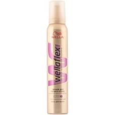 Пена для укладки волос Wellaflex (Веллафлекс) Объем для тонких волос №5, 200 мл