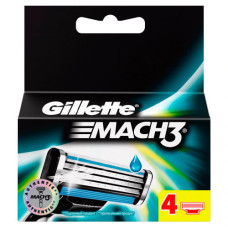 Кассеты для бритья Gillette Mach 3 (4 шт)
