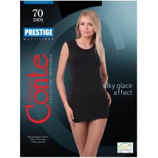 Колготки Conte Prestige (Конте Престиж), Nero (черный), 70 den, 2 размер