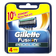 Кассеты для бритья Gillette Fusion ProGlide Power (4 шт)