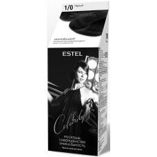 Краска для волос Estel Celebrity (Эстель Селебрити) 1/0 - Черный