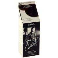 Краска для волос Estel Celebrity (Эстель Селебрити) 6/76 - Горький шоколад