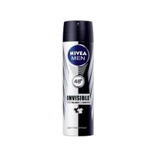 Дезодорант-антиперспирант мужской Nivea (Нивея) Power спрей Невидимая защита для черного и белого, 150 мл