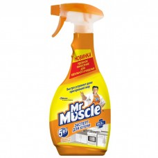 Мистер Мускул эксперт для кухни Свежесть лимона, курок, 450 мл