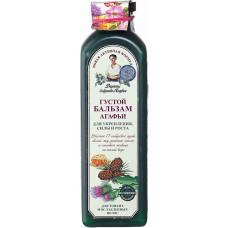 Бальзам для волос Рецепты Бабушки Агафьи Густой для укрепления, силы и роста волос, 350 мл