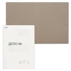 Папка Дело картонная (без скоросшивателя) STAFF, плотность 220 г/м2, до 200 листов
