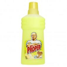 Моющая жидкость для уборки Mr. Proper (Мистер Пропер) Универсал Лимон (750 мл)
