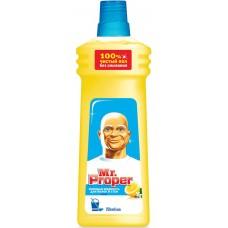 Моющая жидкость для полов и стен Mr. Proper (Мистер Пропер) Лимон, 750 мл