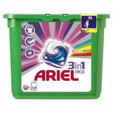 Гель для стирки в растворимых капсулах автомат Ariel (Ариэль) Color, 23 шт*28,8 г