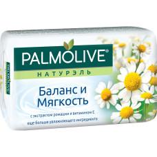 Мыло Palmolive (Палмолив) Баланс и Мягкость с экстрактом ромашки и витамином Е, 90 г