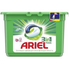 Гель для стирки в растворимых капсулах автомат Ariel (Ариэль) Горный Родник, 15 шт*28,8 г