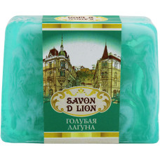 Косметическое мыло ручной работы Savon D Lion «Голубая лагуна», 100 г