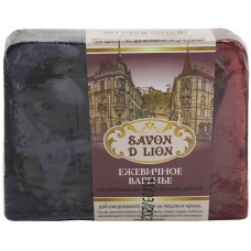 Косметическое мыло ручной работы Savon D Lion «Ежевичное варенье», 100 г