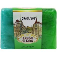 Косметическое мыло ручной работы Savon D Lion «Алоэ-Вера», 100 г