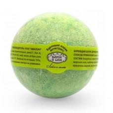Бурлящие шарики для ванны Savon D Lion Лайм и лимон, 130 г