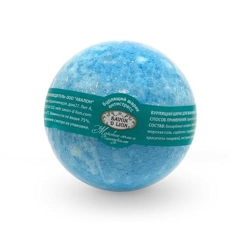 Бурлящие шарики для ванны Savon D Lion Морские соли и минералы, 130 г