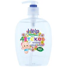 Жидкое крем-мыло Help (Хэлп) Детское, с дозатором, 500 мл