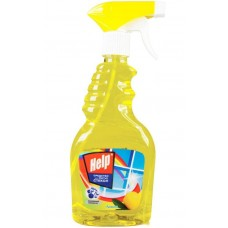 Моющее для стекла Help (Хелп) Лимон, курок, 750 мл