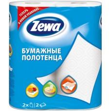 Бумажные полотенца Zewa (Зева) 2-х слойные 2 шт/уп