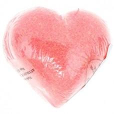 Бурлящие шарики для ванны «Земляника» сердце