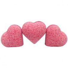 Бурлящие шарики для ванны Savon D Lion сердце Малина