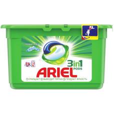 Гель для стирки в растворимых капсулах ARIEL (Ариэль) автомат Горный родник, 12 шт*28,8 г